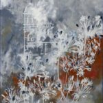 Redland Yurara Art Society - 'Autumn' - Anita Mangakahia - Acrylic and Screen Print on Canvas - Screen Print -Painting - Artwork for Sale