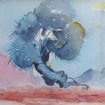 Redland Yurara Art Society - 'Bonsai' - Gloria Dietz-Kiebron - Watercolour - Painting - Art Exhibition - Watercolours