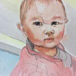 Redland Yurara Art Society - 'Dakota' - Evelyn Kerlin - Watercolour - Painting - Art Exhibition - Watercolours