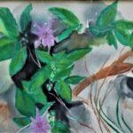 Redland Yurara Art Society - 'My Garden' - Gloria Dietz-Kiebron - Watercolour - Painting - Art Exhibition - Watercolours
