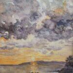 Redland Yurara Art Society - 'Sunset 2020' - Jacqui Selke-Pike - Watercolour - Painting - Art Exhibition - Watercolours