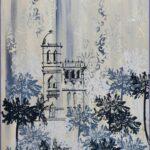 Redland Yurara Art Society - 'Winter' - Anita Mangakahia - Acrylic and Screen Print on Canvas - Screen Print - Painting - Artwork for Sale