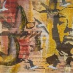 Redland Yurara Art Society - 'Alfred Hitchcock' - Sharon John - Mixed Media - Painting - Art Exhibition - The Holiday Collection