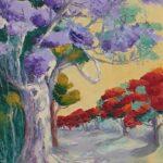 Redland Yurara Art Society - 'An Ormiston Street' - Mary Kirkby - Oil - Painting - Art Exhibition - The Holiday Collection