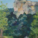 Redland Yurara Art Society - 'Bluff Rock' - Karen Munster - Acrylic - Painting - Art Exhibition - The Holiday Collection