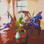 Redland Yurara Art Society - 'Light' - Viga Misztal - Acrylic - Painting - Art Exhibition - The Holiday Collection