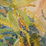 Redland Yurara art Society - 'Obsolete Autumn' - Rosie Sheehan - Line and Wash - Painting - Art Exhibition - The Holiday Collection