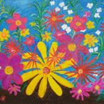 Redland Yurara Art Society - 'Spring Flowers' - Tarja Rantala - Acrylic - Painting - Art Exhibition - The Holiday Collection