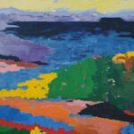 Redland Yurara Art Society - 'Vista 1' - Lynne Wright - Oil - Painting - Art Exhibition - The Holiday Collection