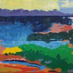 Redland Yurara Art Society - 'Vista 2' - Lynne Wright - Oil - Painting - Art Exhibition - The Holiday Collection