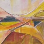 Redland Yurara Art Society - 'What Lies Beneath' - Georgie Usher - Acrylic - Painting - Art Exhibition - The Holiday Collection