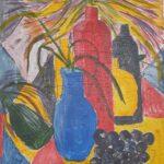 Redland Yurara Art Society - 'Splash of Colour' - Rosie Sheehan - Acrylic - Painting - Art Exhibition - Still Life