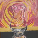 Redland Yurara Art Society - 'The Tumbler' - Arja Tossavainen - Oil - Painting - Art Exhibition - Still Life