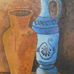 Redland Yurara Art Society - 'Vases' - Tarja Rantala - Acrylic - Painting - Art Exhibition - Still Life