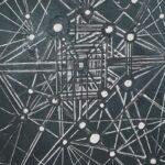 Redland Yurara Art Society - 'Milky Way' - Col Owens - Acrylic - Painting - Art Exhibition - Space