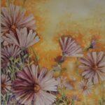 Redland Yurara Art Society - Major Autumn Art Exhibition - 'A Daisy a Day'- David Constable - Watercolour - painting - Art Exhibition - Third Place