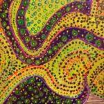 Redland Yurara Art Society - 'Abstract' - Tarja Rantala - Acrylic - Painting - Art Exhibition - Major Autumn Exhibition