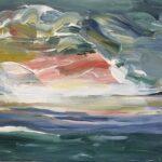 Redland Yurara Art Society 'After the Storm' Rosie Sheehan Acrylic painting