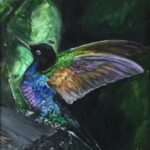 Redland Yurara Art Society - 'All a Flutter' - Mary Jane Turk - Acrylic - Painting - Art Exhibition - Major Autumn Exhibition
