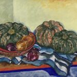 Redland Yurara Art Society - 'Autumn Harvest' - Glenys Bull Acrylic - Painting - Art Exhibition - Major Autumn Exhibition