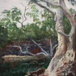 Redland Yurara Art Society - 'Chillago Creek' - John Holmes - Acrylic - Painting - Art Exhibition - Major Autumn Exhibition