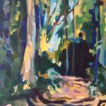 Redland Yurara Art Society Major Autumn Exhibition 'Forest Deep' Karen Munster Acrylic painting art exhibition open theme