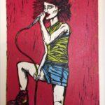 Redland Yurara Art Society - Major Autumn Art Exhibition - 'Hayley Williams (of Paramore)' - Andrew Sewell - Print