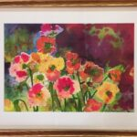 Redland Yurara Art Society - Major Autumn Art Exhibition - 'Iceland Poppies' - Nikki Taylor - Watercolour