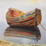 Redland Yurara Art Society - 'Misty Morn' - Louise Harrison - Oil - Painting - Art Exhibition - Major Autumn Exhibition