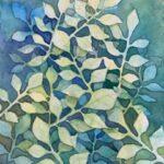 Redland Yurara Art Society Major Autumn Exhibition 'Murraya' Evelyn Kerlin Watercolour