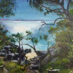 Redland Yurara Art Society - 'Noosa National Park' - John Holmes - Acrylic - Painting - Art Exhibition - Major Autumn Exhibition