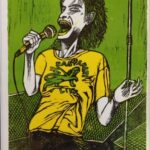 Redland Yurara Art Society - 'Patti Smith' - Andrew Sewell - Print - Art Exhibition - Major Art Exhibition