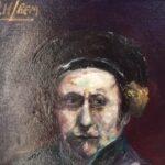 Redland Yurara Art Society -'Rembrandt Study' - Ray Hackett - Oil - Painting - Art Exhibition - Major Autumn Exhibition
