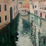 Redland Yurara Art Society - 'Venetian Canal' - Pam Macoll - Oil - Painting - Art Exhibition - Major Autumn Exhibition