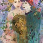 Redland Yurara Art Society - 'Victorian Ladies' - Amanda Jane Slater - Mixed Media - Painting- Art Exhibition - Major Autumn Exhibition