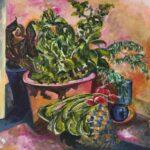 Redland Yurara Art Society - 'Winter Greens' - Glenys Bull - Acrylic - Painting - Art Exhibition - Major Autumn Exhibition