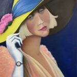Redland Yurara Art Society - 'A Time to Remember' - Christine Pugh - Oil - Painting - Art Exhibition - Vintage