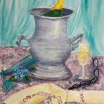 Redland Yurara Art Society - 'Apres Opera' - Jacqui Selke-Pike - Acrylic - Painting - Art Exhibition - Vintage