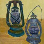 Redland Yurara Art Society - 'Just in Case' - Danielle Bain - Acrylic - Painting - Art Exhibition - Vintage