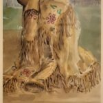 Redland Yurara Art Society - 'Vintage Jacket' - Annie Radcliffe - Watercolour and Ink - Painting - Art Exhibition - Vintage