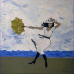 Redland Yurara Art Society - 'Hold on Tight' - Evelyn Kerlin - Acrylic - Painting - Art Exhibition - Weather