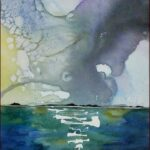 Redland Yurara Art Society - 'Passing Storm' - Angela Bruce - Watercolour - Painting - Art Exhibition - Weather