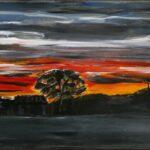 Redland Yurara Art Society - 'Sailors Delight' - Rosie Sheehan - Acrylic - Painting - Art Exhibition - Weather