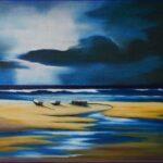 Redland Yurara Art Society - 'Storm Clouds' - Christine Pugh - Oil - Painting - Art Exhibition - Weather