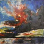 Redland Yurara Art Society - 'Storm Rising' - Annie Radcliffe - Acrylic - Painting - Art Exhibition - Weather
