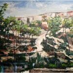 Redland Yurara Art Society - 'Carnarvon Gorge' -John Holmes - Acrylic - Framed - Painting - Major Spring Art Exhibition - Landscapes