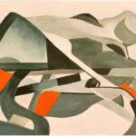 Redland Yurara Art Society - 'City Limits' - Danielle Bain - Acrylic - Painting - Major Spring Art Exhibition - Landscapes