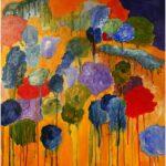 Redland Yurara Art Society - 'Colour Pop Landscape' - Jodi Van Der Pligt - Acrylic - Painting - Major Spring Art Exhibition - Landscapes