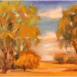 Redland Yurara Art Society - 'Dad's Endless Vista' - Pam Maccoll - Acrylic - Painting - Major Spring Art Exhibition - Landscapes