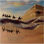 Redland Yurara Art Society - 'Desert View' - Louise Harrison - Oil - Painting - Major Spring Art Exhibition - Landscapes